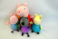TY Peppa Pig Plush Set Lot