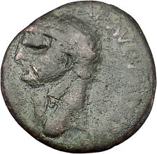 Claudius 41AD Large Rare Ancient Roman Coin Constantia standing left  i45633
