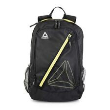 NEW Reebok Workout Water Resistant Backpack Black / Gold RBF91201