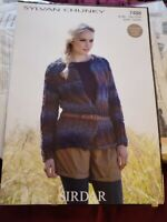 Sirdar Peru Naturals Knitting Pattern: Ladies Cardigan