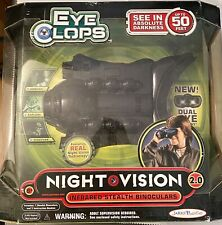 Eye Clops Night Vision 2.0 Goggles Stealth Infrared Binoculars - NEW in box