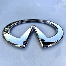 NEW INFINITI G35 LOGO CHROME TRUNK LID BOOT EMBLEM NAMEPLATE BADGE DECAL EM062