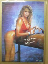Vintage Lady Barbara 1972 poster hot girl car garage man cave 12839