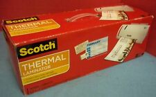 Scotch Thermal Laminator Up To 9 Wide 2 Heat Settings Used Little 3m In Orig Bx
