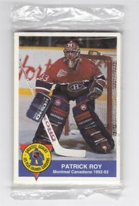 1993 High Liner Greatest Goalies Complete Set Sealed in Cello