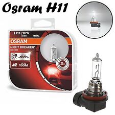 2x Osram H11 55W 12V PGJ19-2 64211 Klar Weiß Scheinwerfer Licht Halogen Birne