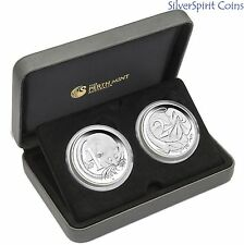 2016 50th ANNIVERSARY OF AUSTRALIAN DECIMAL CURRENCY 1oz Silver Proof Coin Set