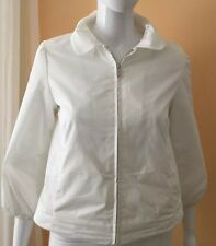 New Banana Republic  Zipped White Women's Jacket Size S