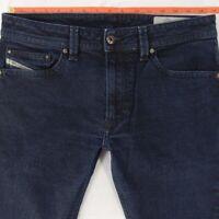 Mens Diesel THAVAR OR6EA Stretch Slim-Skinny Blue Jeans W31 L32