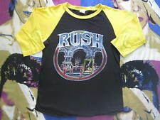 Vintage Rush Band Glam Rock Bootleg Jersey ACDC Journey Cheap Trick Rock N Roll