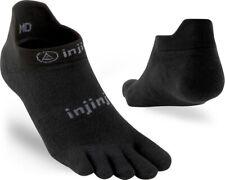 Injinji Run 2.0 Lightweight No Show Toe Socks Barefoot Running No Blisters
