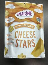 Imagine 5 bags of 4.5 oz White Cheddar Cheese Stars - Exp 8/17/20