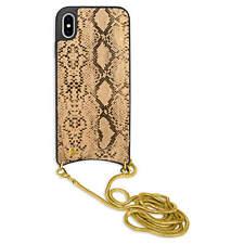 Handykette Handy Case Band für Apple iPhone X / XS / 10 (5.8'') - gold (shiny)