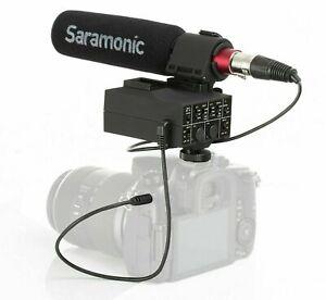 Saramonic MixMic Directional Shotgun Microphone w. 2-Channel XLR Mixer for DSLR