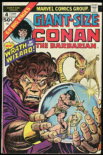 Conan the Barbarian Giant Size 4 Comic Barry Windsor-Smith Gil Kane art REH King