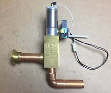 High Vacuum Key BA112 Valve w Bimba air cylinder and Mac solenoid valve