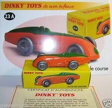 DINKY TOYS ATLAS AUTO DE COURSE MG 1934 BICOLORE 1/43 REF 23A IN BOX