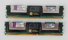 Kingston KTH-XW667LP/2G DDR2-667 2GB (2x 1GB) PC2-5300F ECC FB RAM  ECC SERVER