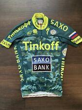 Sagan Tinkoff Saxo Sportful Bodyfit short sleeve jersey Tour