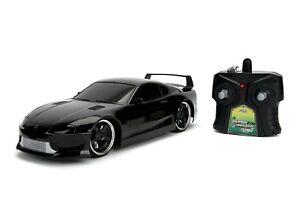 2.4Ghz HyperChargers 1/16 JDM Tuners 1995 Toyota Supra Radio Control Car (Black)