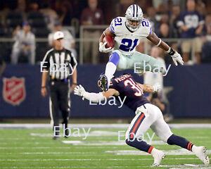 Ezekiel Elliott ( 2016 - 2019 ) Dallas Cowboys 8X10 Photo Reprint