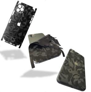 Für iphone 12 11 X Pro Max minXS Mas XR 6 78 Skin Wrap Folie 3M Case Schutzfolie