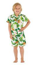 Hawaii Hangover Boy Cabana Set Shirts and Shorts Set In Bird of Paradise