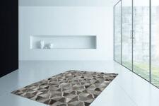 Tapis gris avec des motifs Patchwork pour la cuisine