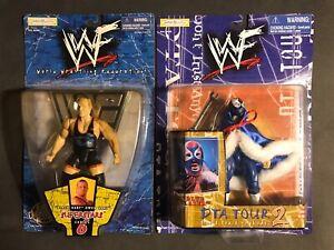 2 Owen Hart WWF Action Figures