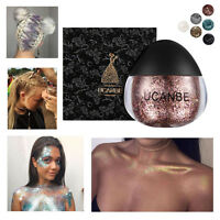 Maquillaje Purpurina Sombra De Ojos Brillo Pigmento en Polvo Belleza