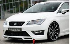 Rieger front spoiler labbro per SEAT LEON 5f FR incl. Cupra fino a Facelift