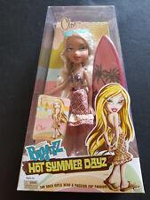 BRATZ CLOE Hot Summer Dayz CALIFORNIA BLONDE Surfer Girl FASHION DOLL Surfboard