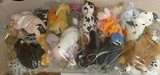 LOT OF 2 lbs TY BEANIE BABIES STUFFED ANIMALS - assorted Grab Bag Bulk