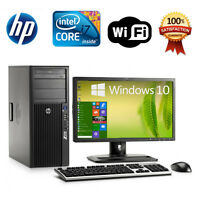 HP Z210 Desktop Computer 8GB/16GB RAM 1TB/2TB Intel i7 Quad Core 3.4GHz Win 7/10