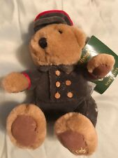 Harrods small Soft Plush Bear Toy Nwt *damage