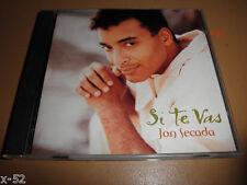 JON SECADA cd SI TE VAS his spanish latin album TUYO solo tu IMAGEN