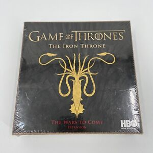 NEW Game of Thrones: The Iron Throne - The Wars to Come Expansion SEALED