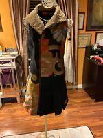 Ladies Gorges Desigual Black Color Size 40 Dress