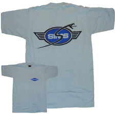Sims Serpenti-skateboard ruote Tee Shirt-Small-ORIGINALE 70 S stock-Blu