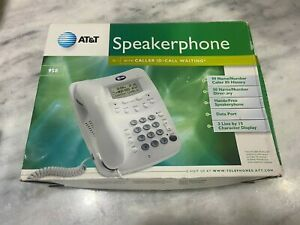 AT&T 958 Corded Speakerphone with Caller ID (White) Free Shipping!