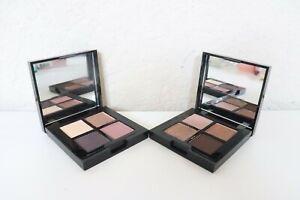 Lancome Eye Shadow Quad Palette - LOVE CHARM & SULTRY SKY 0.20 oz/ 5.6g each