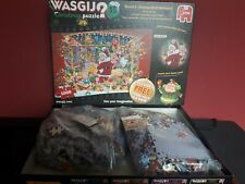 Wasjig Number 15 2 X 1000 Piece Jigsaw Puzzles Santa's Unexpected Delivery