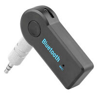 MICRO WIRELESS BLUETOOTH AUX AUDIO STEREO MIC RECEIVER ADAPTER MUSIC MP3 PLAYER