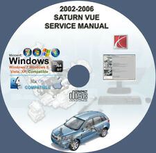 SATURN VUE 2002 2003 2004 2005 2006 SERVICE REPAIR MANUAL ON CD 3 Days Shipping!