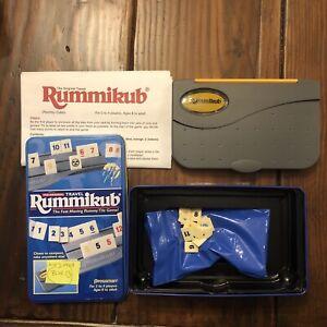 Pressman Travel Rummikub Tile Game Card Game Incomplete 1999