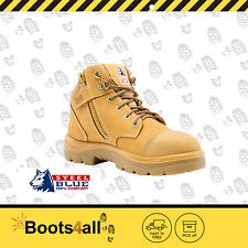 Steel Blue 312658 Parkes Wheat Zipsider Safety Boots
