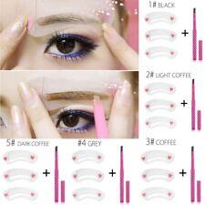 1Pc Kit de Crayon à Sourcil Automatique Outil Cosmétique Maquillage de Pochoir