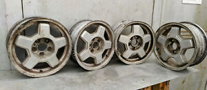 "Volvo 940 960 740 760 1985-1995 15"" OEM Wheel Rim Set 1330400"