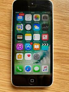 Apple iPhone 5C - 16GB - White A1529 (GSM)- Unlocked