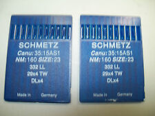 20 Leather Point Needles size 23/160 For Singer 29K & 29U Bootpatchers